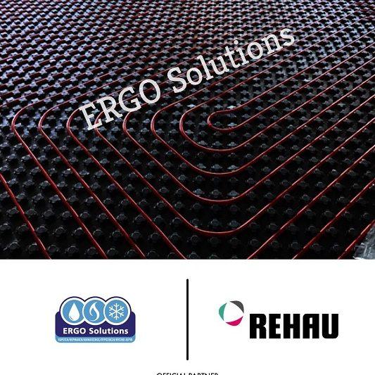 Εγκατάσταση ενδοδαπέδιας Θέρμανσης με σύστημα REHAU featured image