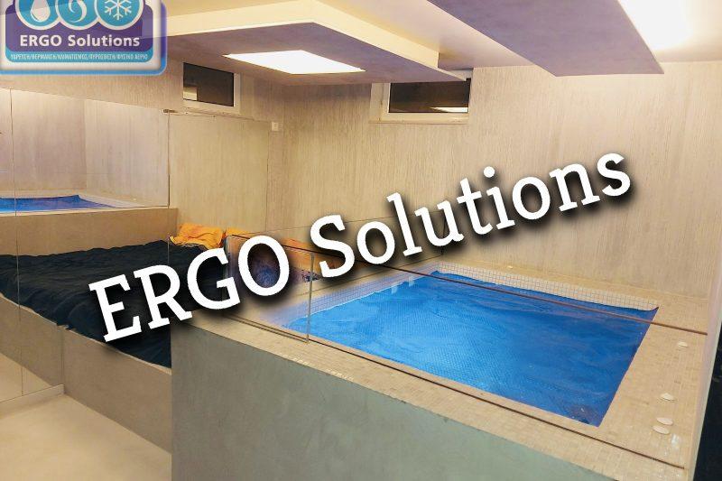 Kατασκευή και Εγκατάσταση θερμαινόμενου Tζακούζι σε υπόγειο featured image