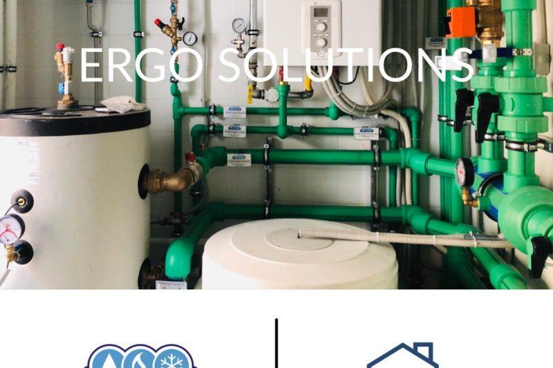 Εγκατάσταση Αντλίας θερμότητος και λεβητοστασίου featured image
