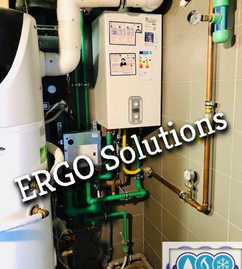 Υβριδικό σύστημα λέβητα αερίου σε συνδυασμό με αντλία θερμότητας featured image
